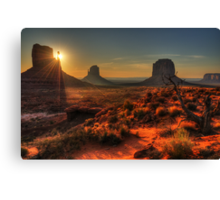 The Touch of Sunlight Canvas Print