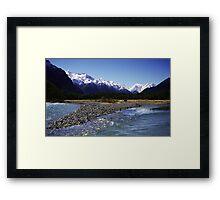 Eglinton River, Fiordland National Park, New Zealand Framed Print