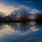 Ahuriri Valley, Mackenzie Country by Paul Mercer