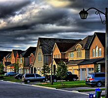 Row of Houses by SeRVE