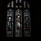 St. Cybi's Church - Memorial Windows by Allen Lucas
