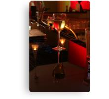 Wine Reflection Canvas Print