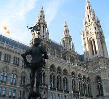 Wien Rathaus by Elena Skvortsova