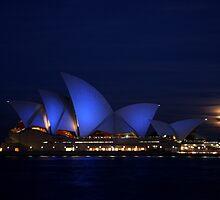 Moon Rise by Varinia   - Globalphotos