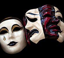 Venetian Masks by Kathleen Hill