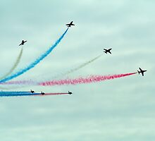 The Red Arrows by Michelle Welch