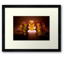 Gummy Bear Photography - A Summit Conference  Framed Print