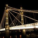 Albert bridge in London by Vilma Bechelli