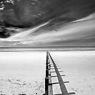 Rhyl Breakwater. by maxblack