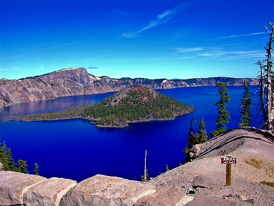 Crater Lake  by Rany Lutz