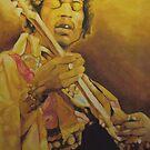Jimi Hendrix by Okse