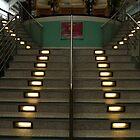 Illuminated Stairway by LumixFZ28