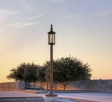 Lamp Post, Evening Light by Delany Dean