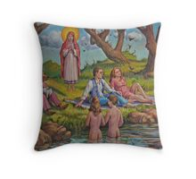 Marriage Throw Pillow
