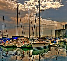 Harbour Front Lake Ontario by Kate Adams