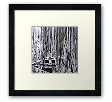 Hitachi Homicide Framed Print