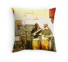Live Music in Oxford Street, Sydney Australia. Throw Pillow
