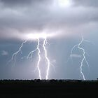 Casino Plains Lightning by Michael Bath