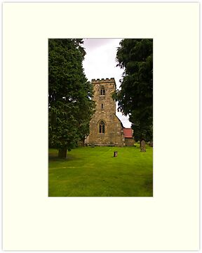 St Mary's Church - Myton on Swale by Trevor Kersley