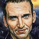 Doctor Who: Christopher Eccleston by marksatchwillart