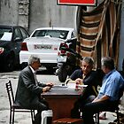 3 men and a table by BeckRocchi
