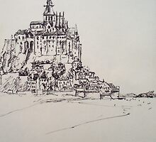Le Mont Saint Michel by Stephen Coley