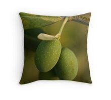 Three Olives Throw Pillow