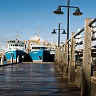 Fishing Boat Harbour by mattsibum