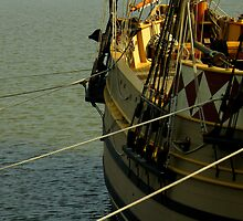 Jamestown Settlement Ships ~ Part Two by artisandelimage