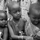 Masai Children by Tony Hadfield