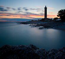 Lighthouse Veli rat by Ivan Coric