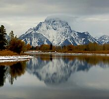 Oxbow Bend, Grand Tetons Panorama by PGornell