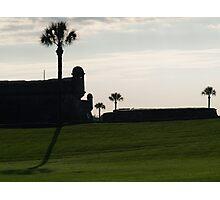 The Castillo de San Marcos  Photographic Print