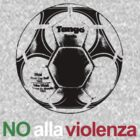 A Casual Classic iconic No Alla Violenza inspired t-shirt design by Casual Classics