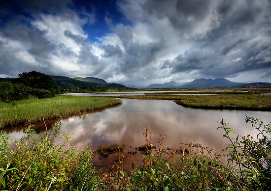 Wales : View from Porthmadog by Angie Latham