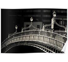 Ha'penny Bridge, Dublin Poster