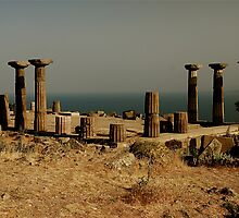Assos Acropolis, Turkey by Johannes  Huntjens