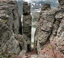 Pillar of Ages - Mt. Oberlin - Glacier National Park, Montana, USA by Dave Martsolf