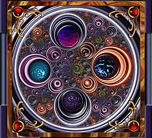 Circle Mandala by blacknight