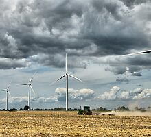 Wind Farm by HighHeadArtwork