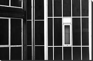 Window and lines by Silvia Ganora