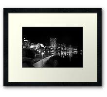 The River Torrens Framed Print