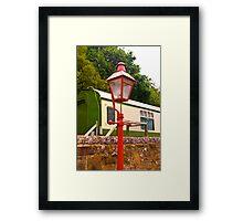 Goathland Station Light Framed Print