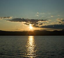 Sunset on Lake George by Deborah Austin