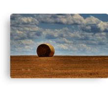 Hay on the Horizon Canvas Print