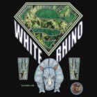 Marijuana T Shirt Super White Rhino  by bear77