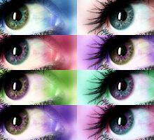 Eye Rainbow by down23