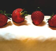 Strawberries   by Barry W  King