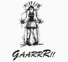 GaarrR - Angry Girl by Samuel Durkin