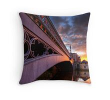 Lendal Sunset, York Throw Pillow